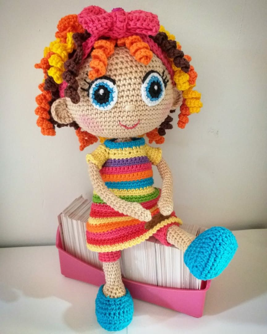 Crochê brinquedos amigurumi boneca ovelha bonito número modelo ... | 1080x864