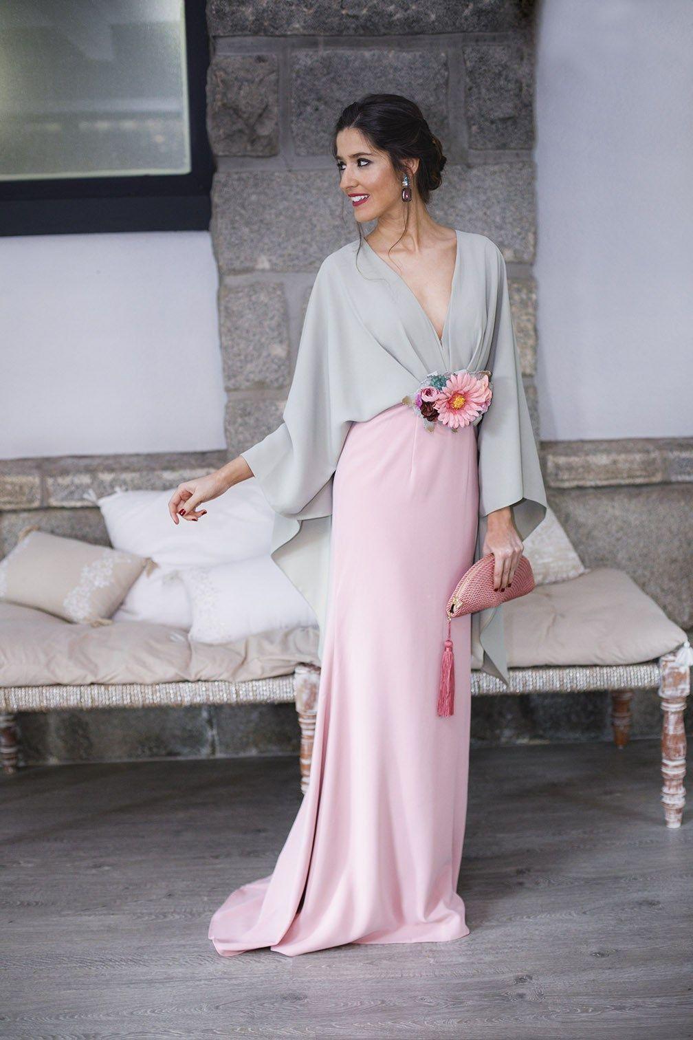 27e95457b Look invitada perfecta 2018 vestido largo hermana novia | Vestido ...