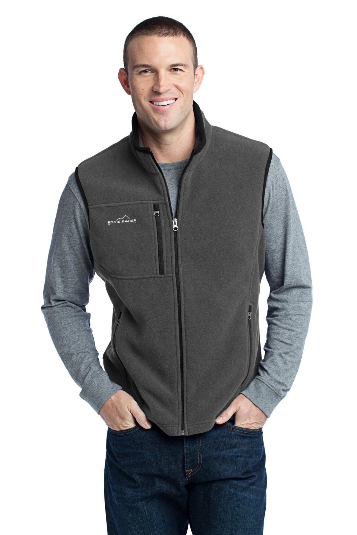 201bdf3f5c42 Eddie Bauer - Fleece Vest EB204 Grey Steel