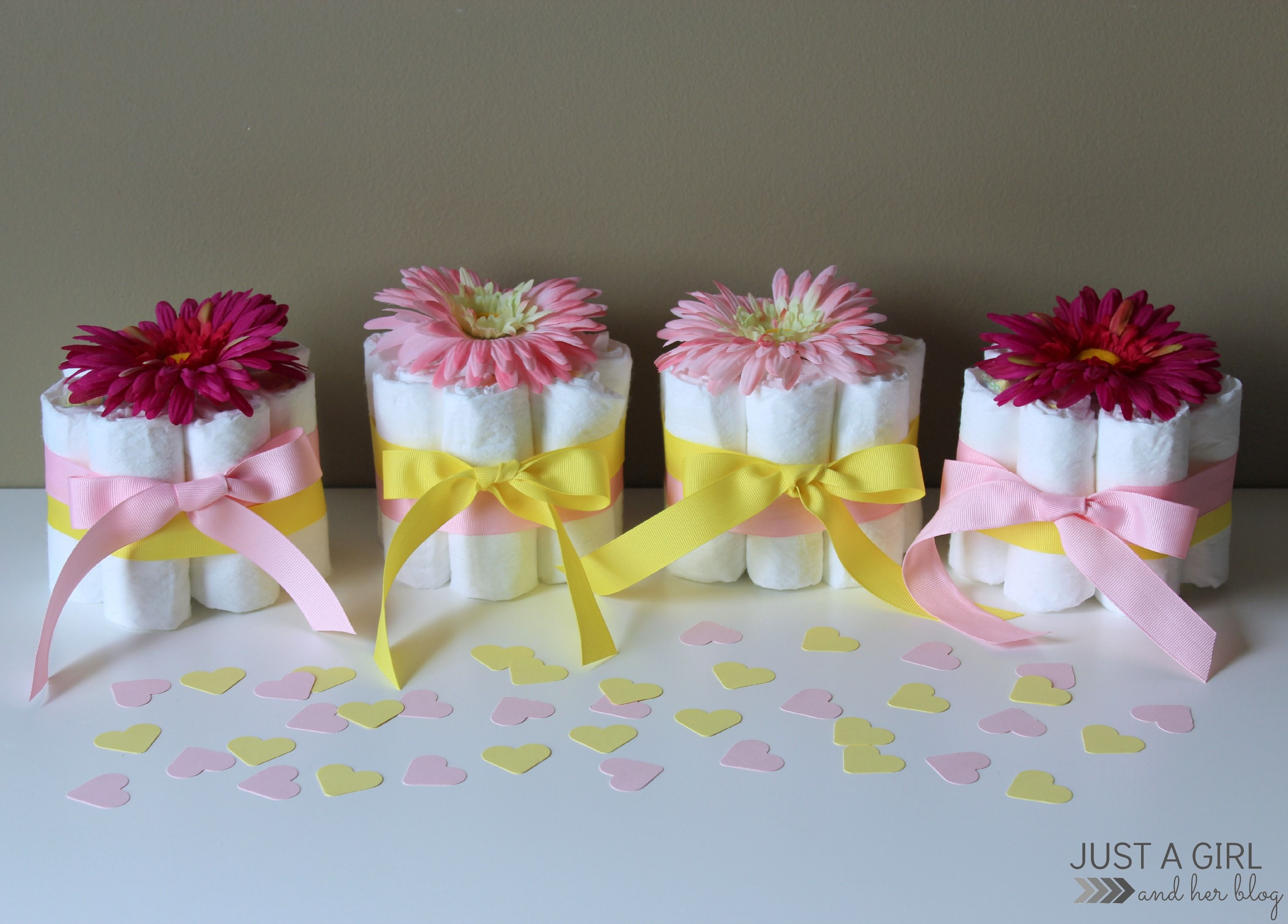 Wonderful Sweet And Simple Baby Shower Centerpieces