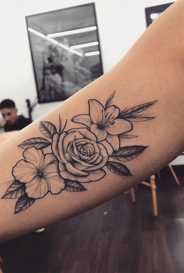 Photo of 55 Beautiful Rose Tattoo Ideas