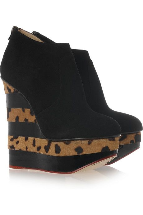 Charlotte Olympia Martha Platform Booties outlet cheap prices for nice for sale online cheap price geniue stockist online S3AWN