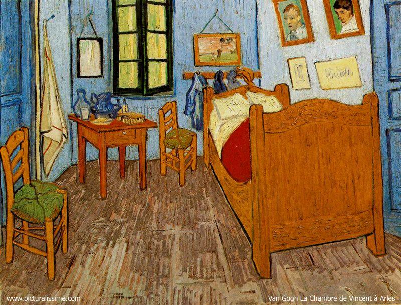 Vincent Van Gogh Bedroom At Arles Art My Personal Faves