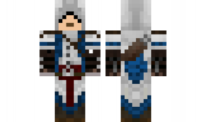 Minecraft Skin Assassincreed Minecraft Skins Pinterest - Skin para minecraft pe de assassins creed