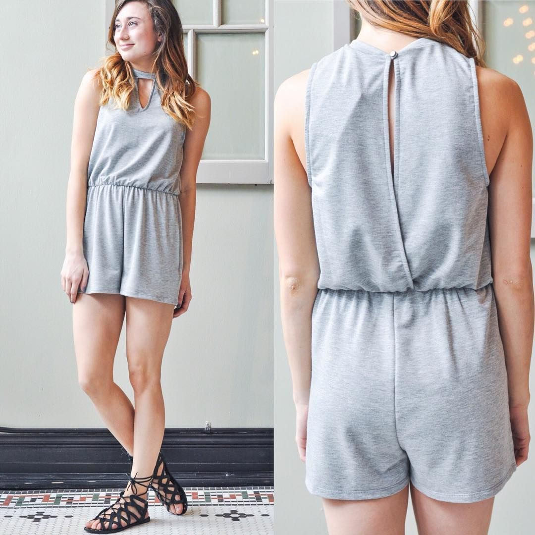 Cozy and Casual Romper + Sandals = Perfect outfit 🙌🏻💕