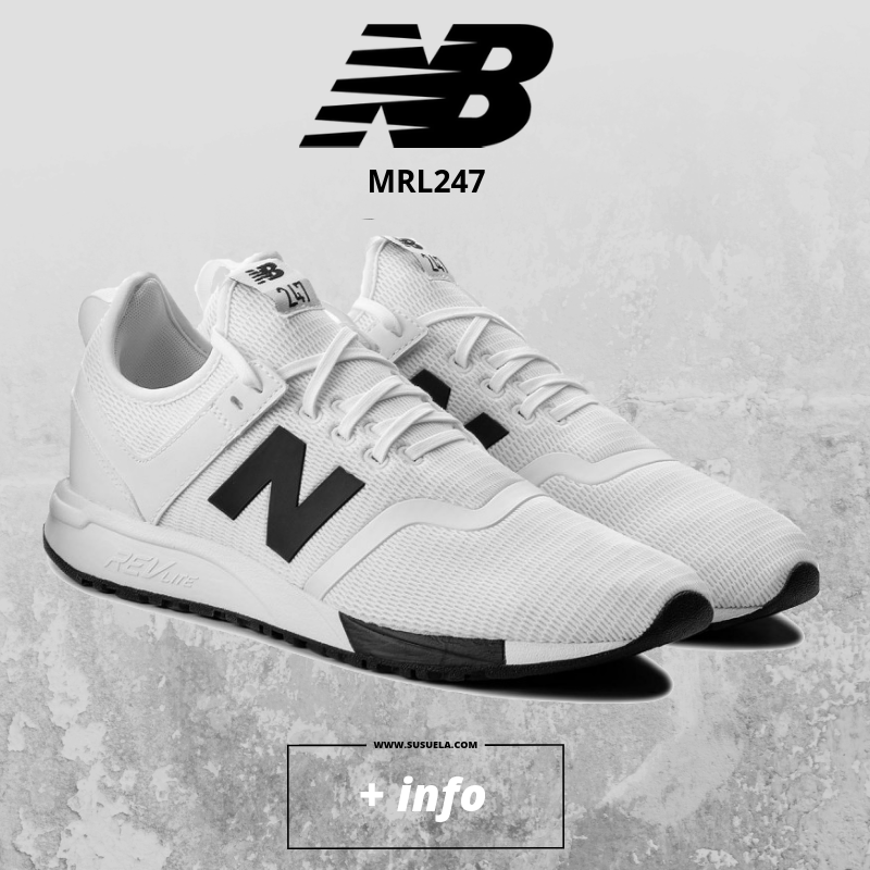 new balance mrl247 blanco