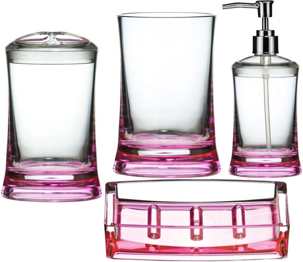 Plastic Glitter Bathroom Accessories | Bathroom Accessories ...
