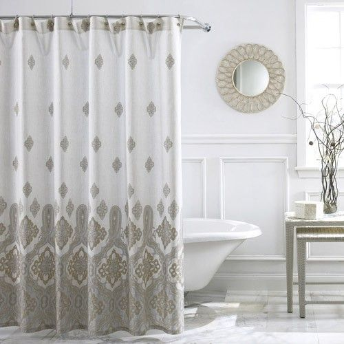 Charisma Marrakesh Shower Curtain By Charisma Bedding The Home Decorating Company With Images Shower Curtain Curtains Printed Shower Curtain
