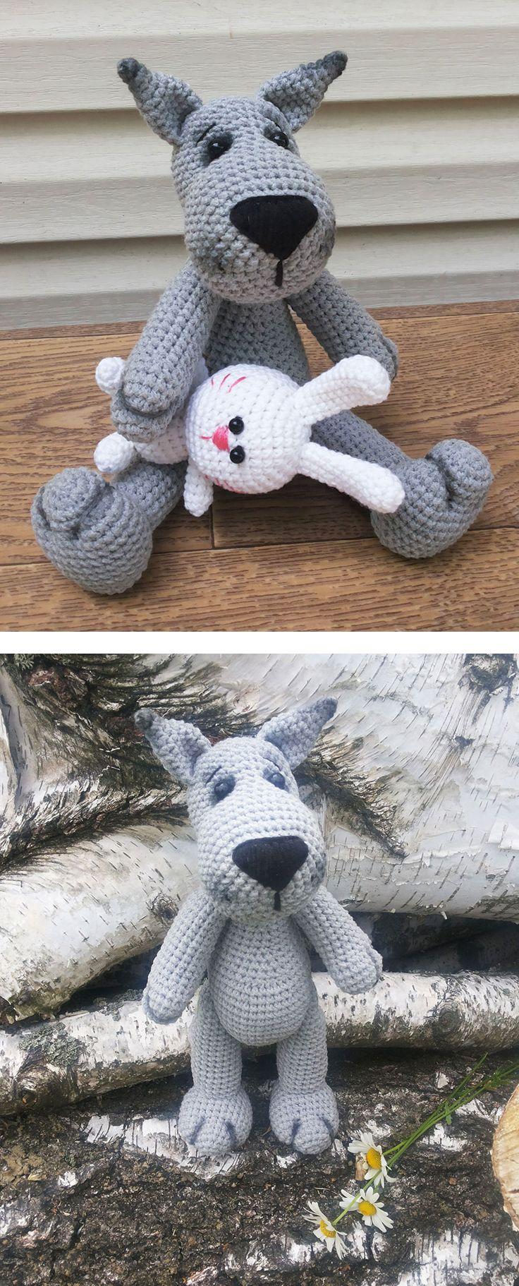 Crochet wolf amigurumi pattern | Wolf, Create and Amigurumi patterns