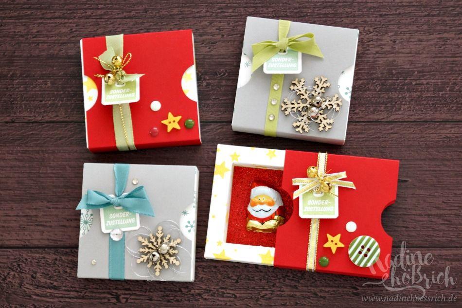 Weihnachtsgeschenke Für Kunden Friseur.Ich Bastel Ja Schon Immer Gerne Goodies Für Die Kunden Und Auch Für