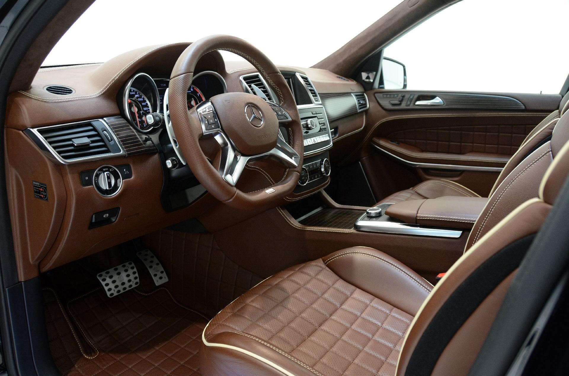 Square quilted mercedes interior google search
