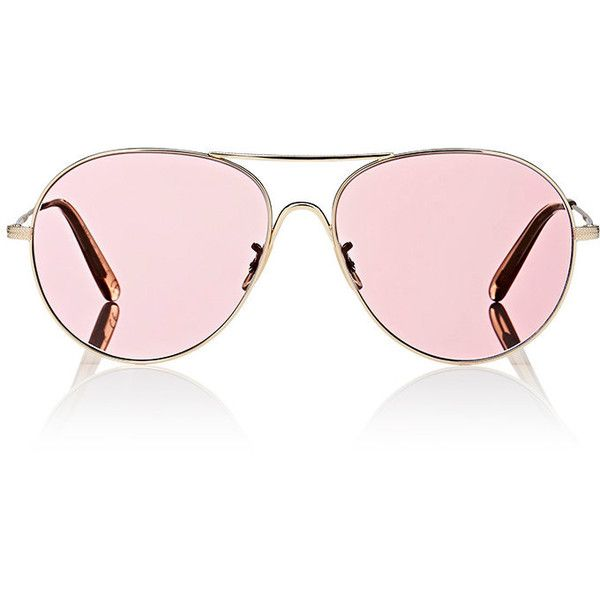 f92a8fa3278 Oliver Peoples Women s Rockmore Sunglasses ( 415) ❤ liked on Polyvore  featuring accessories