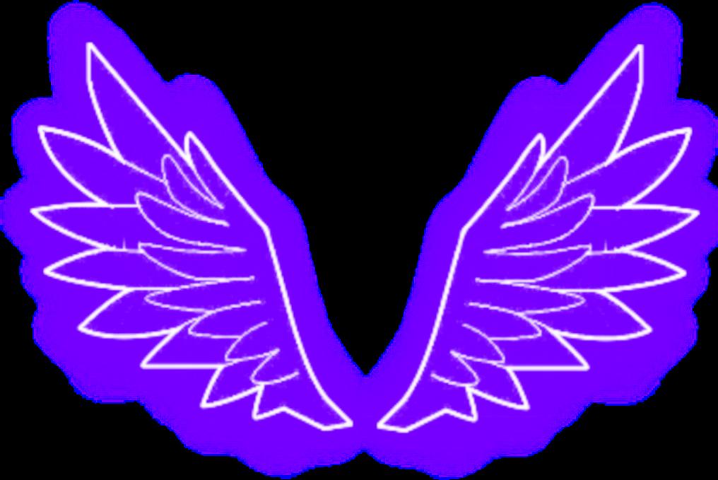 Freetoedit Alas Wings Angelwings Angel Morado Purple Tumblr Neon Remixit Asas De Anjo Desenho De Olho De Anime Desenho De Olho
