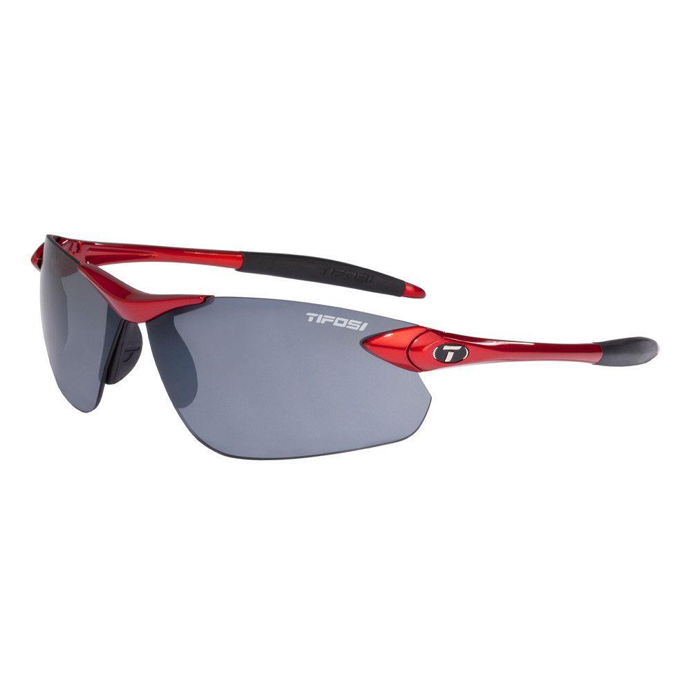 Tifosi Seek FC Single Lens Sunglasses - Metallic Red