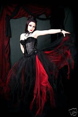 Gothic Wedding gown
