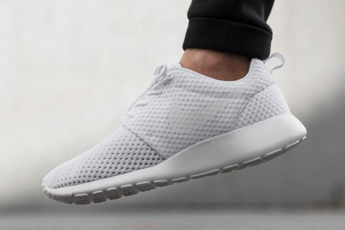 Nike Roshe Run Breeze White Wolf Grey