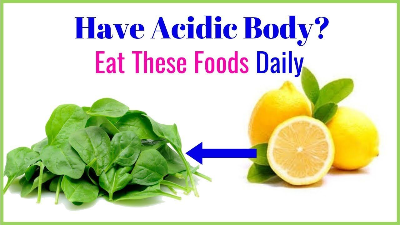 Eating alkaline foods every day And balance pH level in