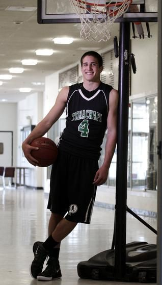The Californian's All-Area boys basketball player of the year: Cory Lange, Tehachapi. He will serve an LDS mission before pursuing collegiate sports.