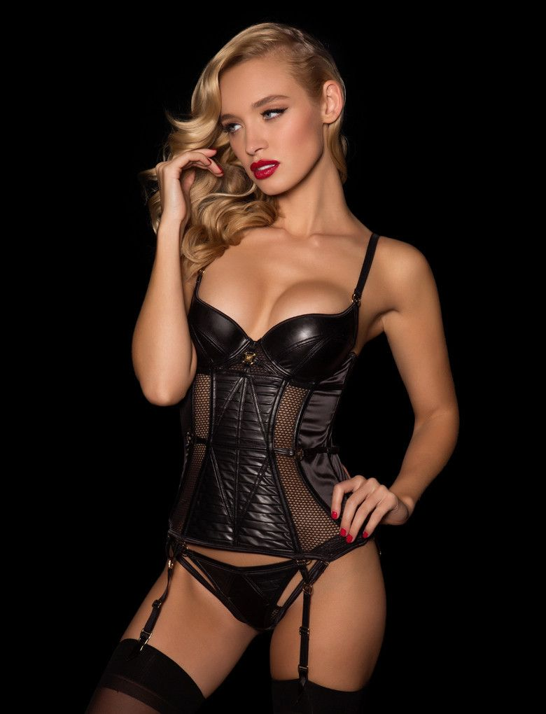 78d9a2b853603 Berlin Bustier Set - Honey Birdette - Lingerie Set - 1 | Lingerie ...