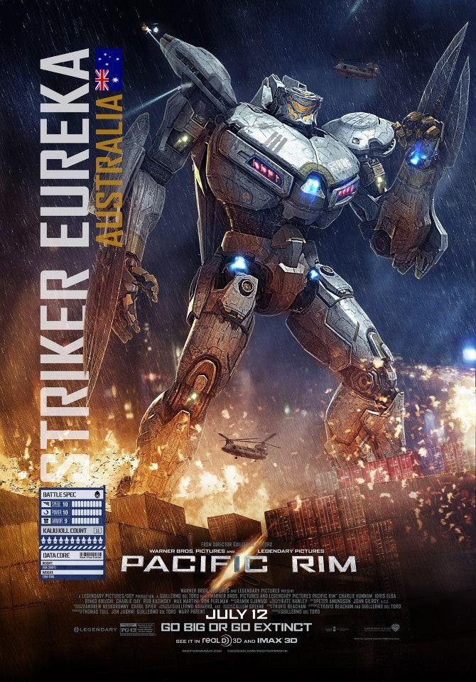 Pacific Rim New Kaiju Clip Featurette Banner And Posters Geektyrant Pacific Rim Pacific Rim Striker Eureka Pacific Rim Movie