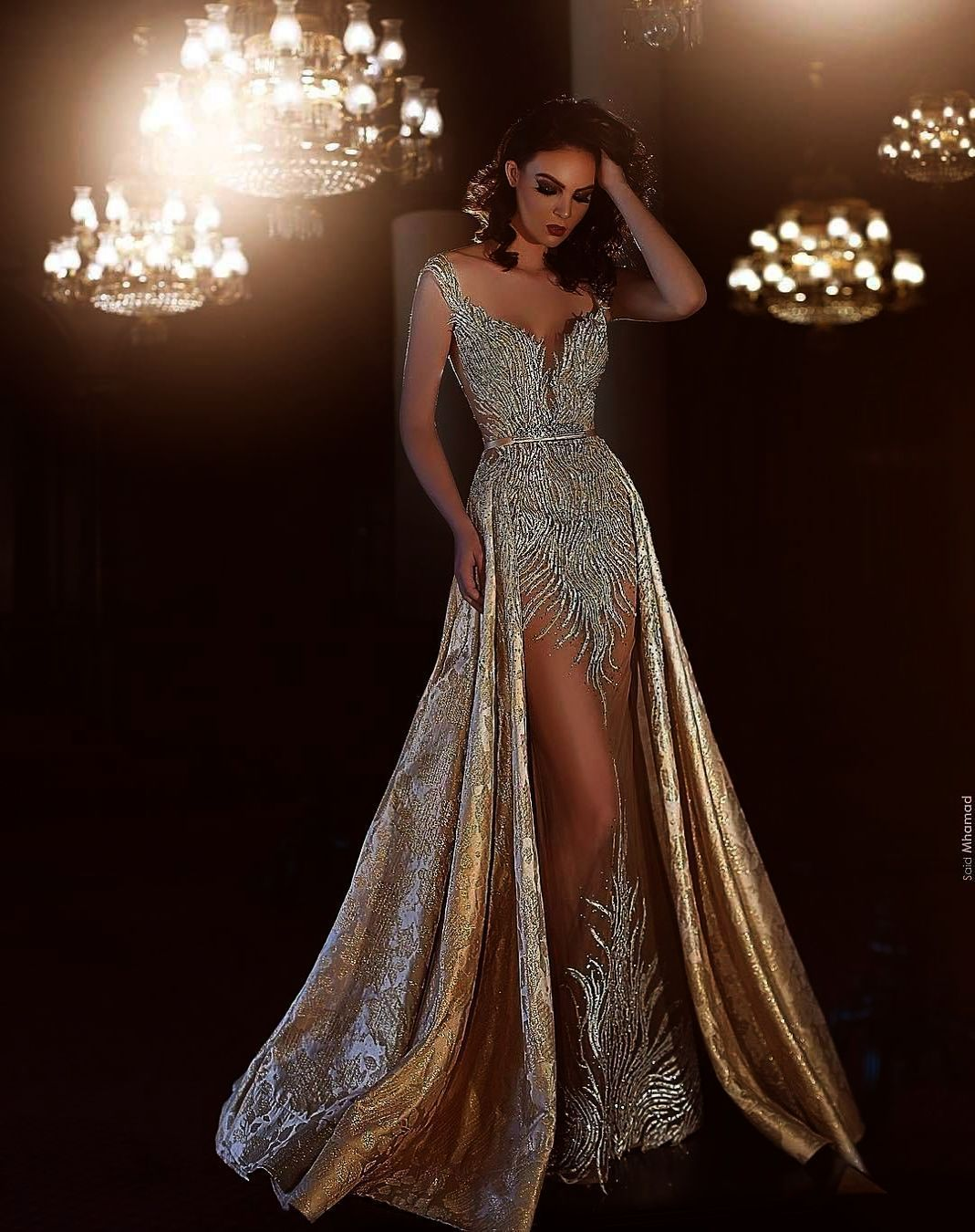 Beautiful prom and pageant gown! View