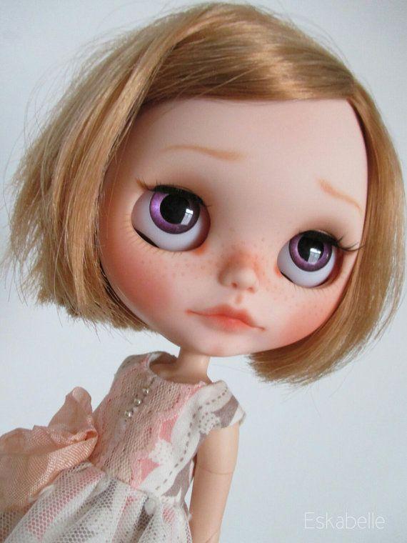 Custom Blythe OOAK art doll 'Mollie' by Eskabelle on Etsy