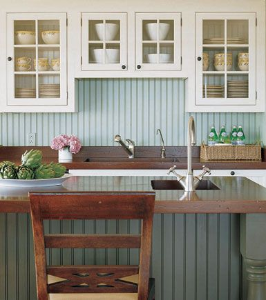 Rich In History Cottage Style Kitchen Beadboard Kitchen