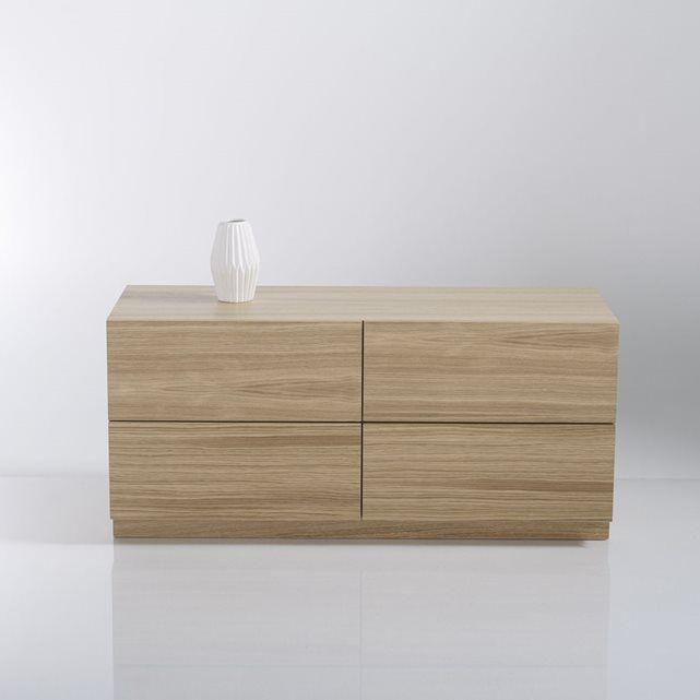 Autres Image Module étagère rangement, 4 tiroirs, Biface La Redoute
