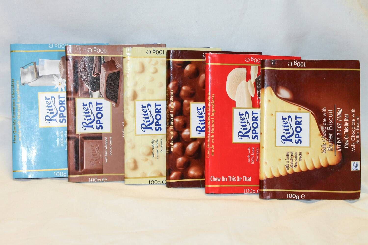 New to ChewOnThisOrThat on Etsy Ritter Sport Milk