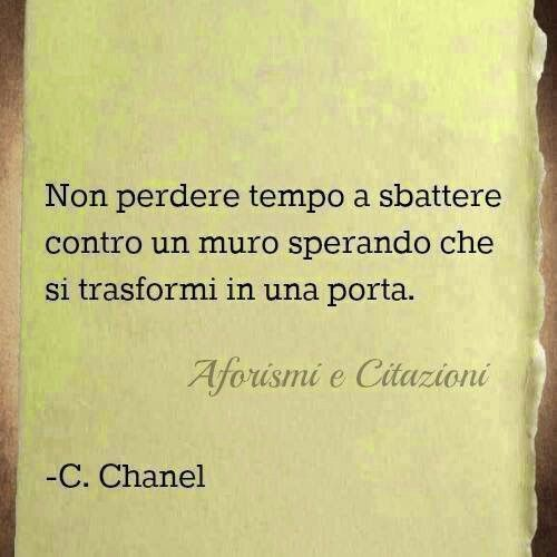 Italian Sayings About Sadness: Don't Waste Time Knocking On A Wall, In The Hope It Will