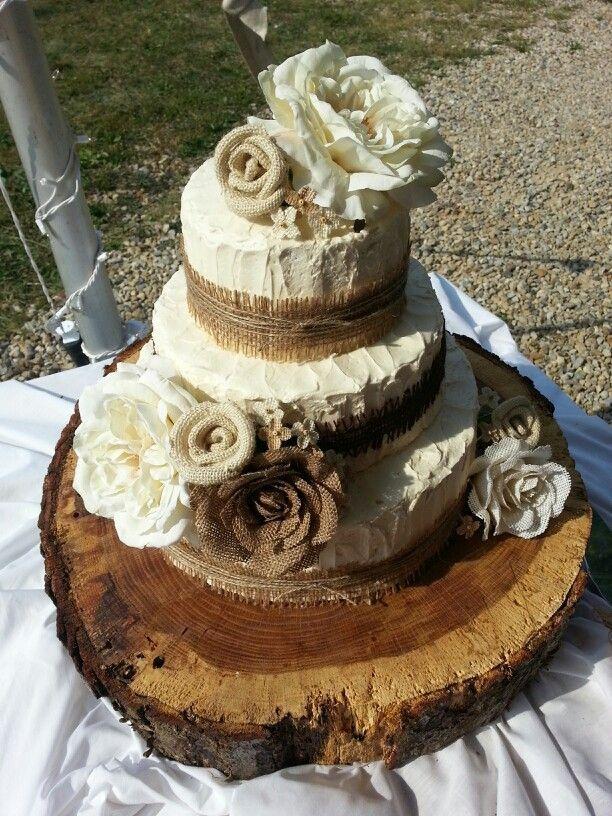 Rustic Themed Wedding Cakes Via Kelly Samsal Wedding Pinterest