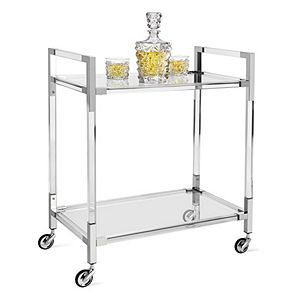 Glass Wood Dining Table, Claro Bar Cart Gifts For Him Gifts Collections Z Gallerie In 2020 Gold Bar Cart Bar Cart Decor Bar Cart