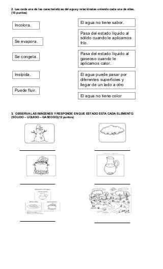 El Agua Y Sus Características Homeschool Fails