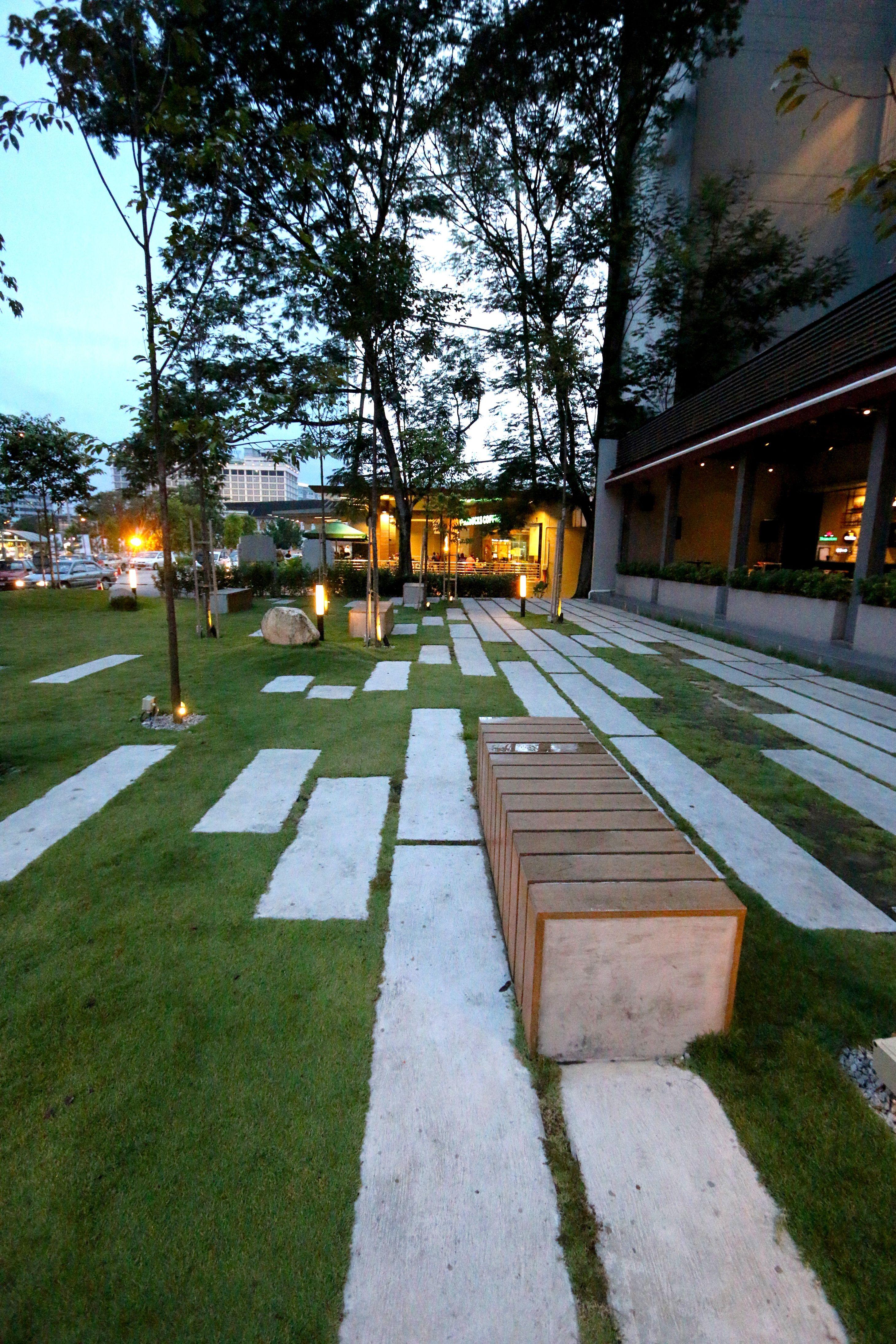 Weil Hotel, Ipoh, Perak My  Linear Park, Landscape Design