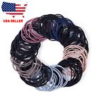 Lot Fashion Elastic Rope Women Hair Ties Ponytail Holder Head Band Hairbands US | eBay