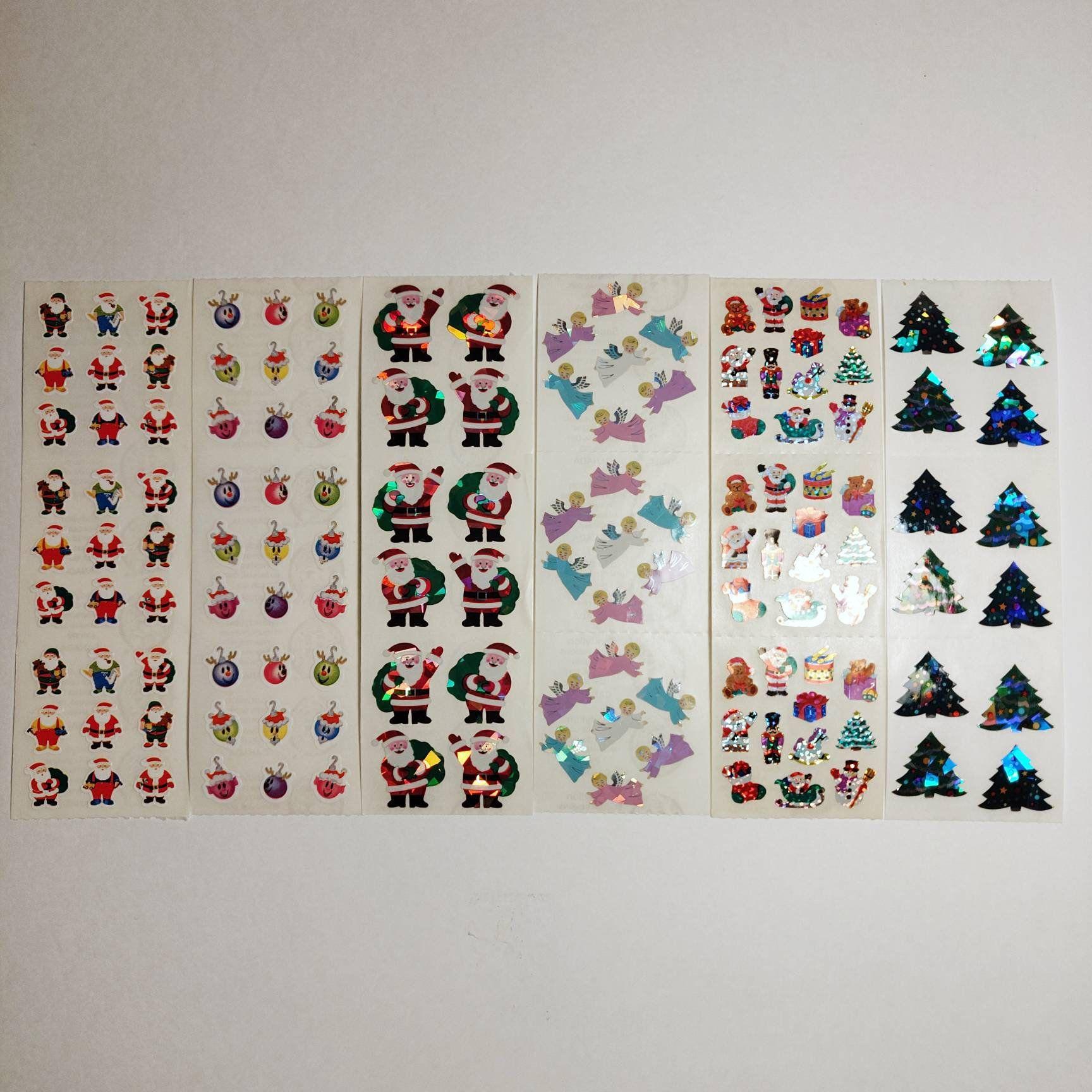 Sandylion Christmas Lot 6 Sheets Vintage Sandylion Stickers Etsy In 2020 Planner Supplies Sticker Sheets Princess Sticker