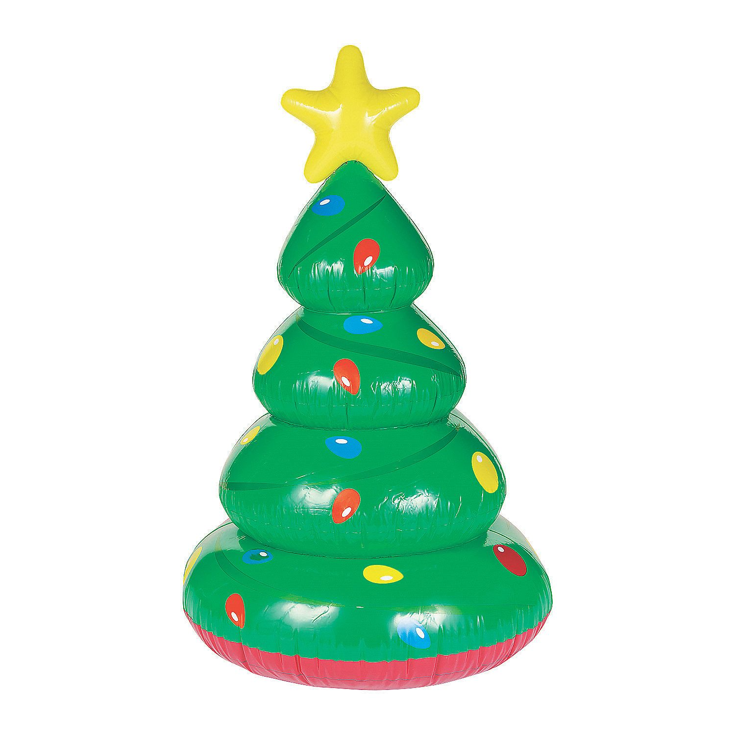 Large Inflatable Christmas Tree Orientaltrading Com In 2020 Inflatable Christmas Tree Large Christmas Tree Christmas In July Decorations