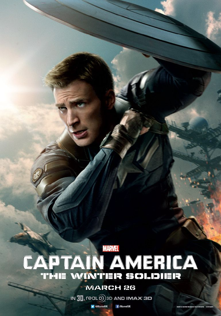 New Poster For Captain America The Winter Soldier Captain America Winter Captain America Winter Soldier Captain America