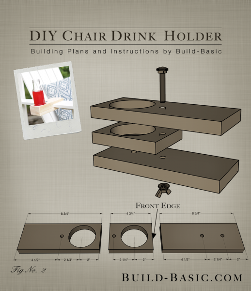 Swell Build A Diy Chair Drink Holder Building Plans By Download Free Architecture Designs Pushbritishbridgeorg