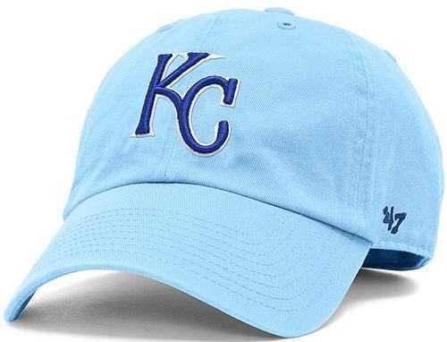 huge discount 665ef d21d0 Kansas City Royals Alternate Color Franchise Fitted Baseball Cap by 47 BRAND  x MLB