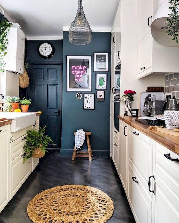 70 Suprising White Kitchen Cabinets Design Ideas #kitchenfurniture