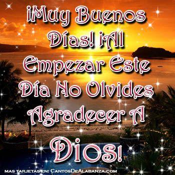 Tarjetas De Buenos Dias Gratis Tarjetas Cristianas Gratis Muy