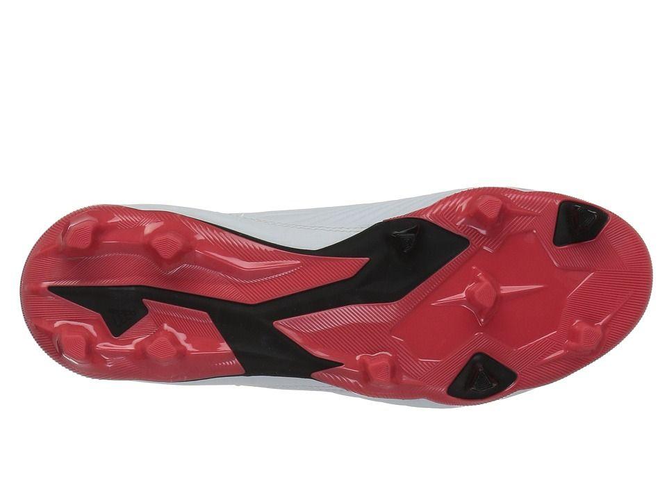 f004abdfe4d adidas Kids Predator 18.3 FG (Little Kid Big Kid) Kids Shoes White Black Real  Coral