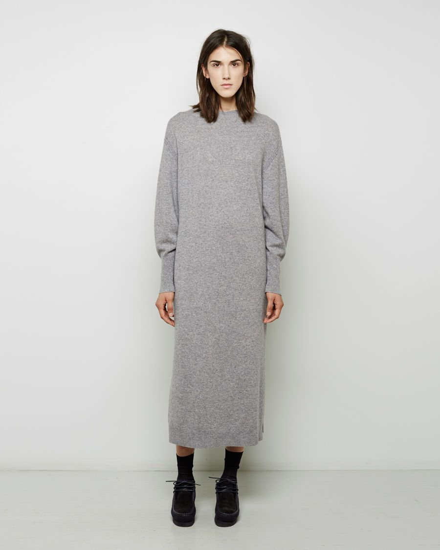 Apiece apart gray aita cashmere dress apiece apart gray aita