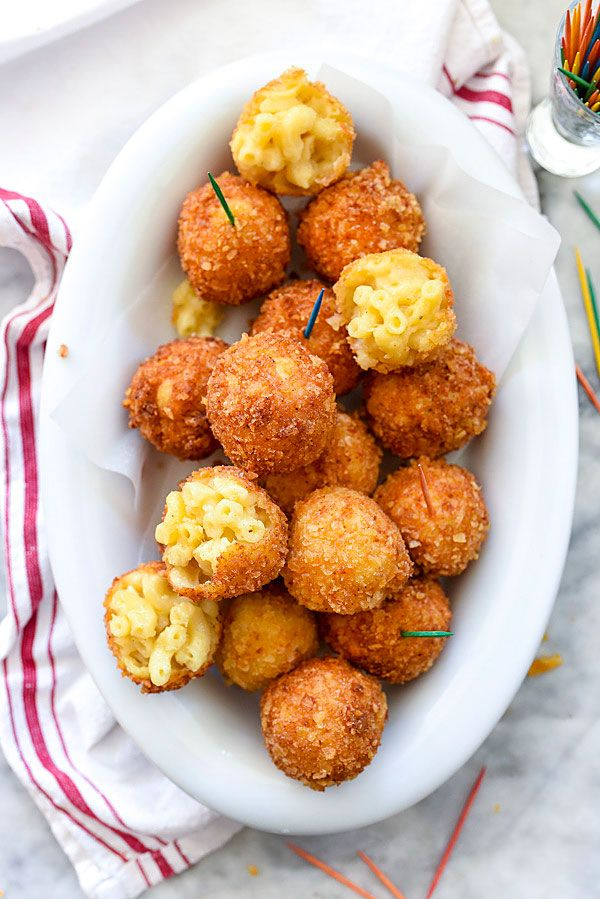 Pin By Sweet C S On A P E R O S A V O U R Y Mac And Cheese Balls Recipe Cheese Ball Recipes Food