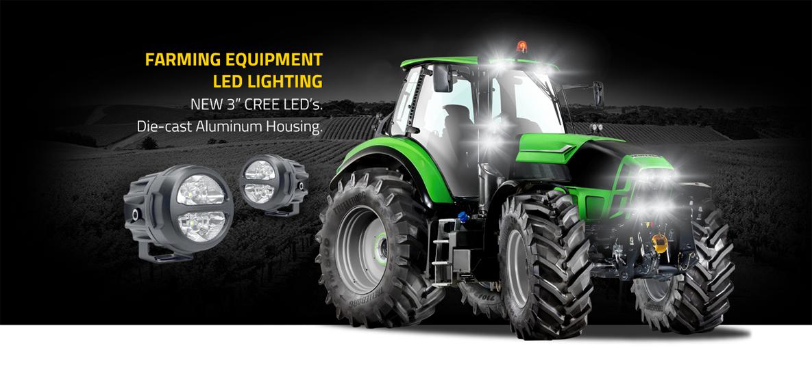 Db Link Lighting Solutions Go Great On Agriculture Equipment And Will Light Up Any Job Lighting Solutions Cree Led Led Lights