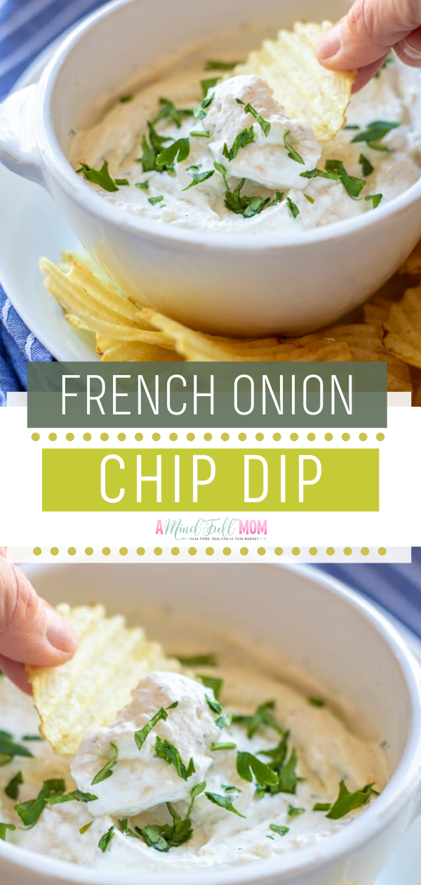 This Homemade French Onion Chip Dip Is The Best Chip Dip Ever Nbsp This Sour Cream Chip Dip Is Flavo In 2020 Superbowl Appetizers Easy Best Chip Dip Food For A Crowd