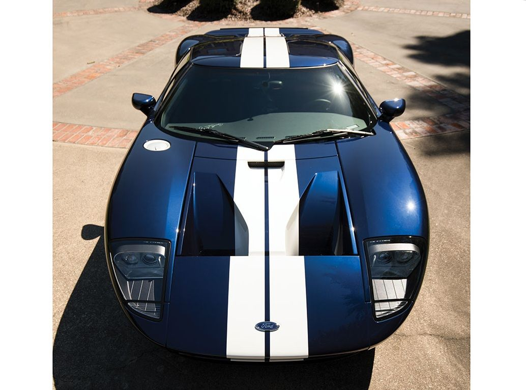Brand New  Ford Gt Is Hitting The Auction Block
