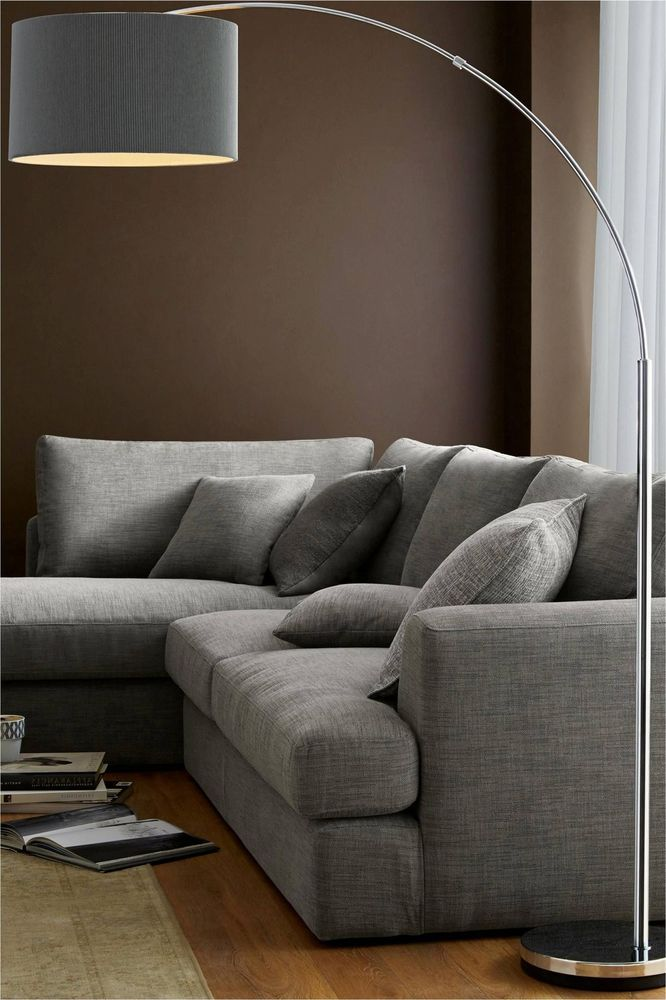 Next Large Curve Arm Floor Lamp And Standing Light New Floor