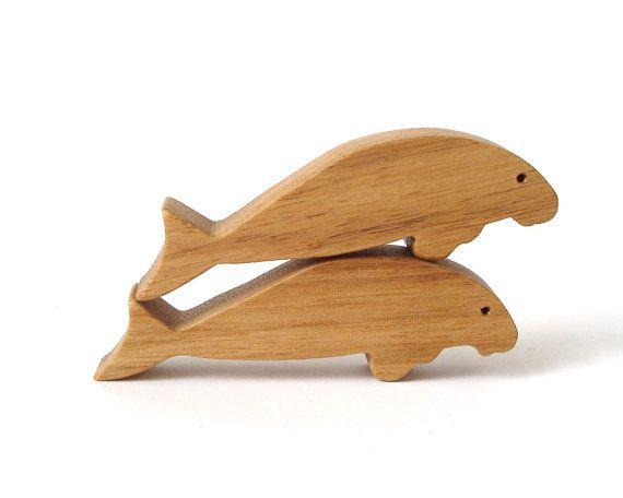 Manatee Wood Toy Wooden Waldorf Miniature Noah S Ark Animals Zoo